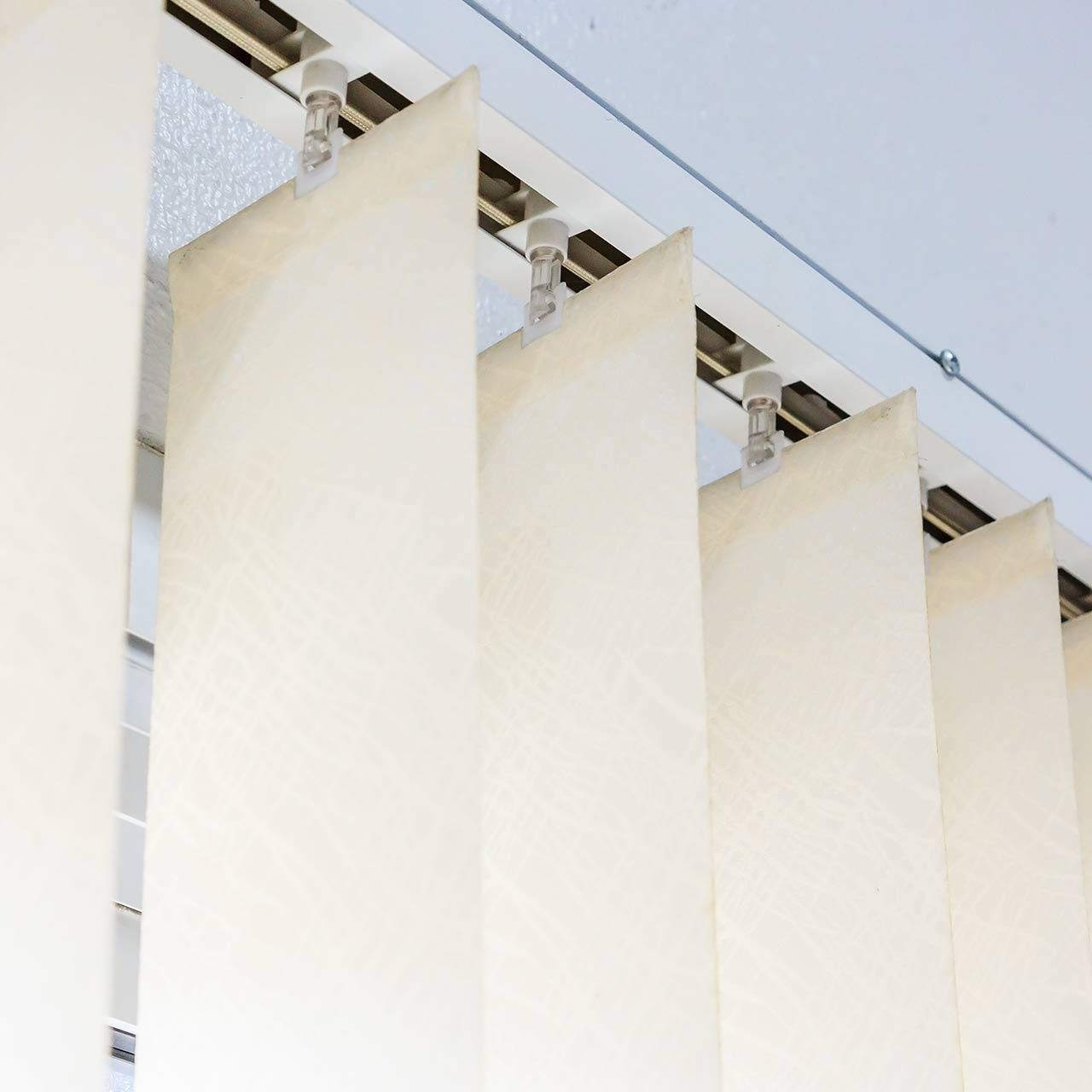 store bande verticale tissu