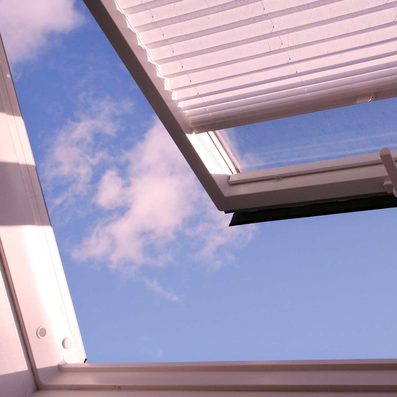 store plissé toiture