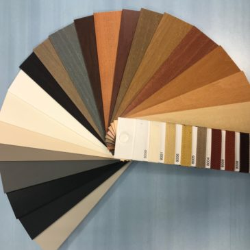 store vénitien bois coloris