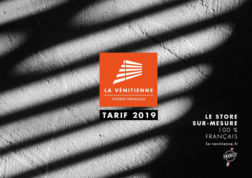 Le catalogue - tarif 2019